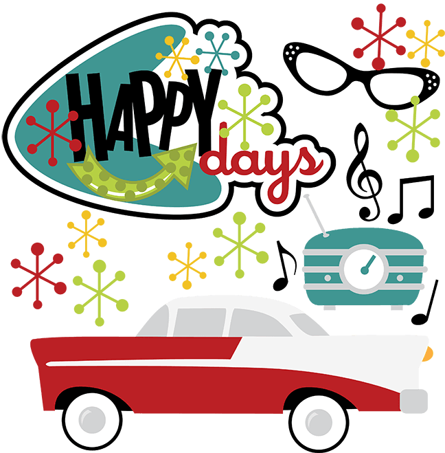 Happy Days Car Show Logo