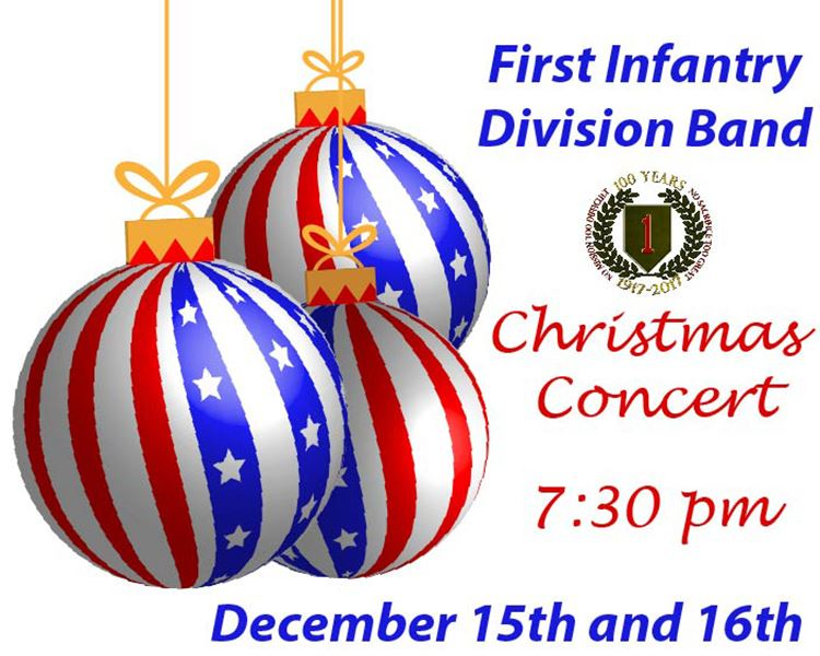 1st ID Band Christmas Concert 2017