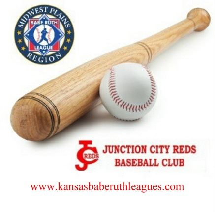 JC Reds MWPR Logo bat and ball