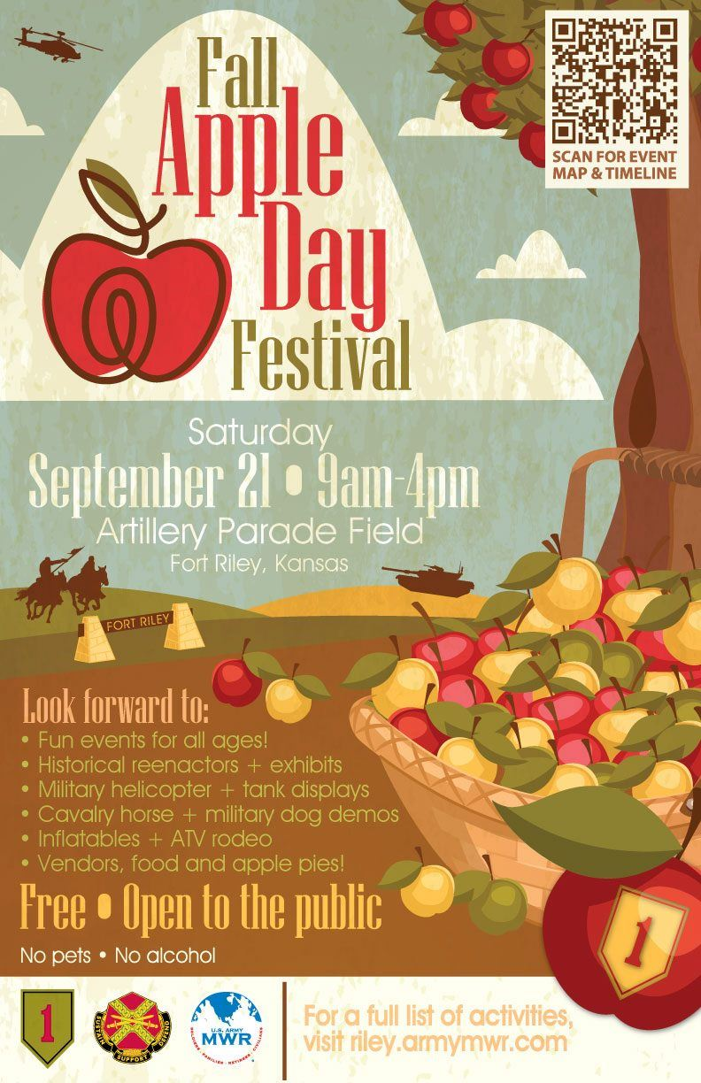 Ft Riley Apple Day Flyer 2019