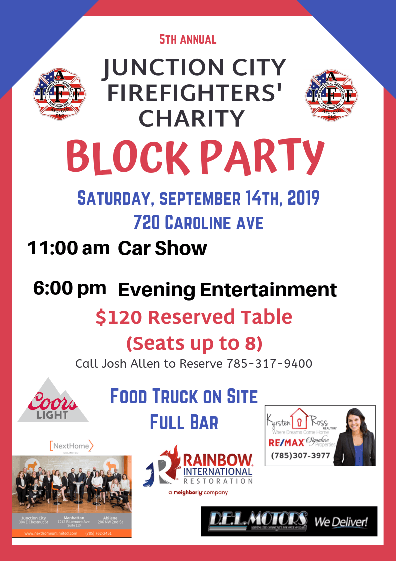 JC Firefighters Block Party 2019