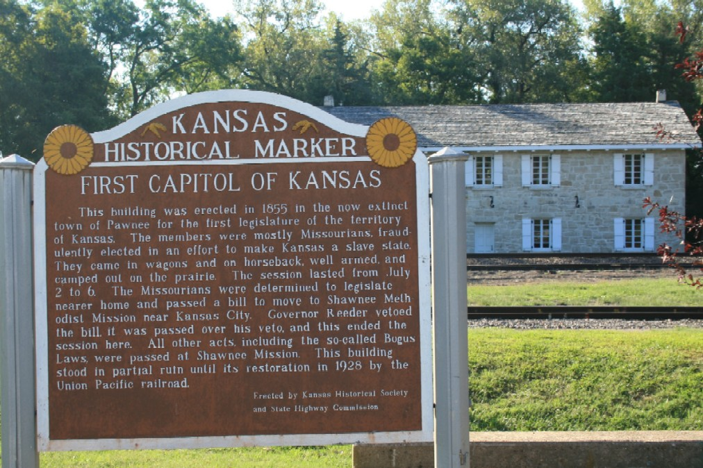 1st Territorial Capitol sign